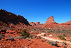 Valley of the Gods Stock Photo