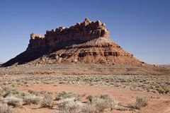 Valley of the gods Royalty Free Stock Photography