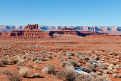 Valley of the Gods landscape Royalty Free Stock Photo