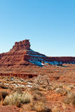 Valley of the Gods landscape Royalty Free Stock Photos
