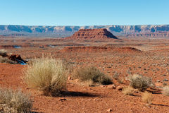 Valley of the Gods landscape Royalty Free Stock Images