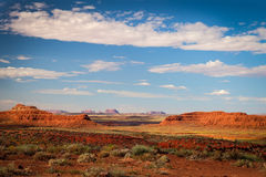 Valley of the Gods near Mexican Hat, Utah Royalty Free Stock Images