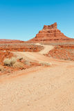 Valley of the Gods road Stock Image
