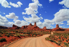 Valley of the Gods Royalty Free Stock Photos