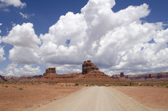Valley of the Gods - Utah - USA Royalty Free Stock Photography