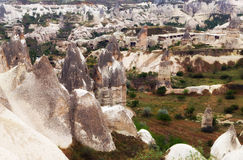 Valley in Goreme, Cappadocia Royalty Free Stock Image
