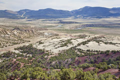 Valley of Green River, Utah Royalty Free Stock Photography