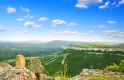 Valley in high mountain. Royalty Free Stock Image