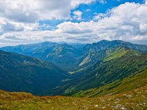 Valley in the High Tatras stock photography