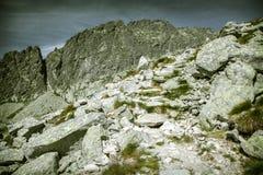 Valley in High Tatras, Slovakia Stock Image
