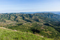 Valley Hills Homes Landscape Stock Photos