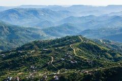 Valley Hills Homes Landscape Stock Images