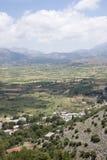 Valley, island of Crete, Greece Royalty Free Stock Photos