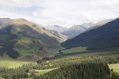 The valley Jets-Oguz. Issyk Kul, Kyrgyzstan Royalty Free Stock Image