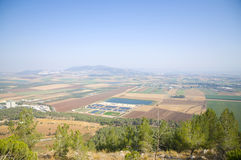 Valley of Jezreel Royalty Free Stock Photo