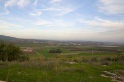 Valley of Jezreel, the Gilboa Stock Photos
