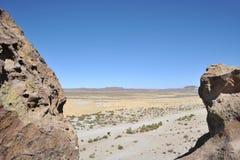 Valley Kala-Kala The City Of Oruro Stock Images