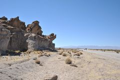 Valley Kala-Kala The City Of Oruro Stock Image
