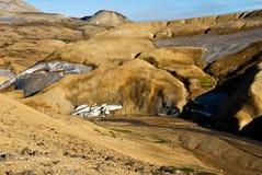Valley Kerlingarfjoll Iceland Royalty Free Stock Image