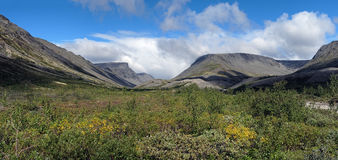 Valley in Khibiny Mountains, Russia Royalty Free Stock Photography