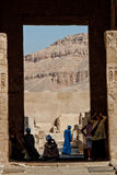 Valley of the King, Egypt. A view on a sacred mountain Stock Photo