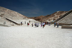 Valley of the Kings. In Egypt, near by Luxor Stock Photography