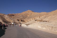 Valley of kings Royalty Free Stock Images