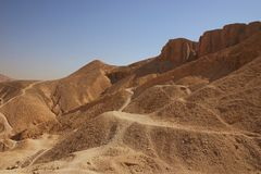 Valley of kings Stock Images