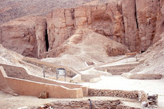 Valley of the kings Stock Photography