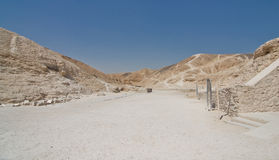 The Valley of the Kings in Egypt Stock Photography