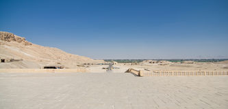 The Valley of the Kings in Egypt Stock Image