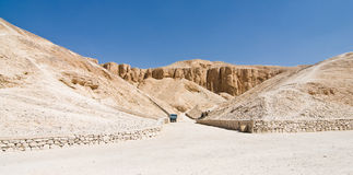 The Valley of the Kings in Egypt. The Valley of the Kings in Luxor, Egypt Stock Photos