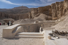 The Valley of the Kings Royalty Free Stock Photography
