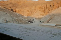Valley of the Kings Royalty Free Stock Photos