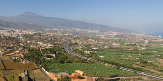 Valley of La Orotava Stock Photos