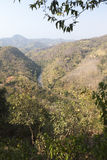 Valley and Landscape of Thaton and Kok River Stock Photos