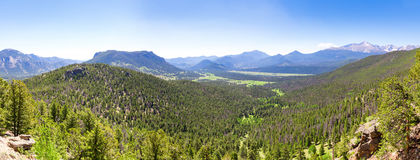 Valley landscape in usa. Stock Photography