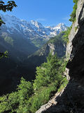 Valley of Lauterbrunnen Royalty Free Stock Photos