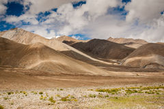 Valley of leh Stock Image