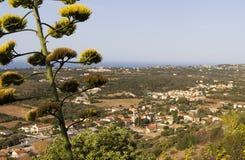 Valley of Leivathous at Kefalonia island Stock Image