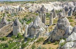 Valley of Love, Cappadocia. Rock formations in Cappadocia, Turkey known as Valley of Love Royalty Free Stock Photo