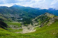 Valley in a low tatra mountains Stock Photo