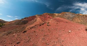 Valley of Mars landscapes royalty free stock images