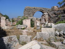 Valley of Memories - Ephesus stock photo