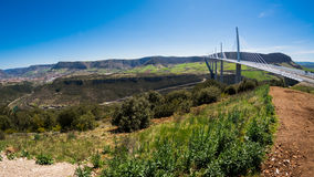 Valley of Millau in France Stock Photos
