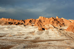 Valley of the Moon Stock Photography