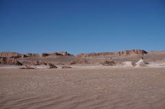 Valley of the Moon, Atacama, Chile Stock Image