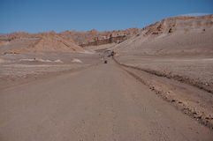 Valley of the Moon, Atacama, Chile Stock Images