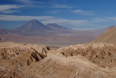 Valley of the moon, chile Stock Image