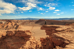 Valley of the Moon. Desert of Atacama, Chile. Royalty Free Stock Photo